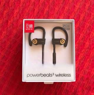 Powerbeats 3 Wireless Earphones Trophy Gold