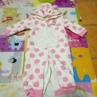 麗嬰房幼兒厚款連身衣