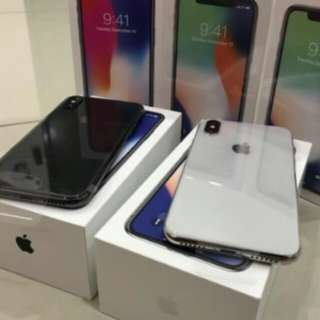 Iphone x 64 silver or grey