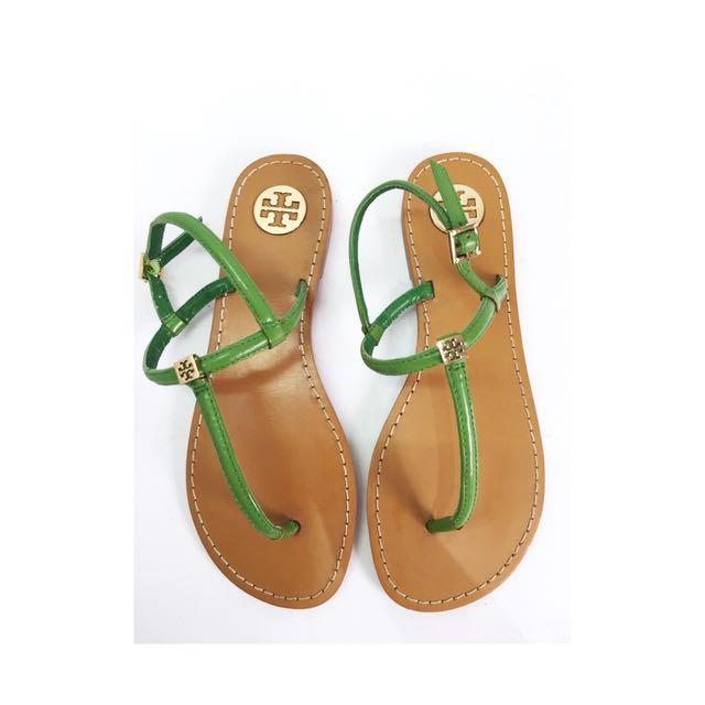 b483065ed5c8f6 100% ORIGINAL TORY BURCH Alfie Patent Leather Thong
