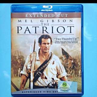 Blu Ray The Patriot extended cut