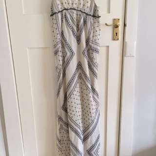 Cotton boho maxi dress - sportsgirl size 8
