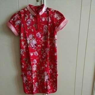 Flower Oriental Dress