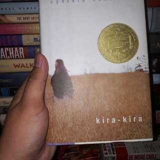 Kira-kira by Cynthia Kadohata (hardbound)