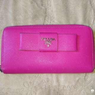 Wallet Leather Prada