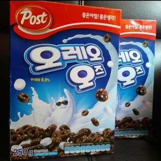 韓國Korea Exclusive Oreo O's Cereal (250g)