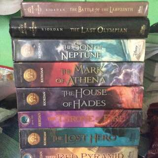 RICK RIORDAN BOOKS (Percy Jackson, Heroes of Olympus, Kane Chronicles)