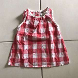 Carter chequered top