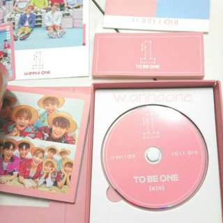 WANNA ONE TO BE ONE PINK VERSION ALBUM ONLY