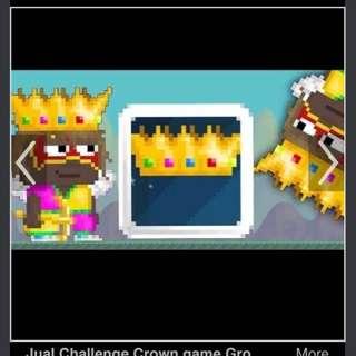 Growtopia Challenge Crown