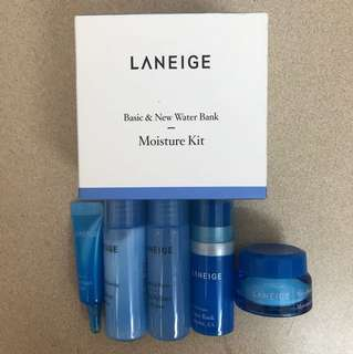 Laneige Water Bank Moisture Trial Kit