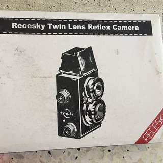 Recesky twin lens reflex camera