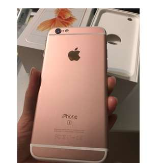 iphone 6S , 64GB, Rose Gold, 98% new