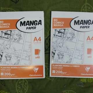 Manga Paper