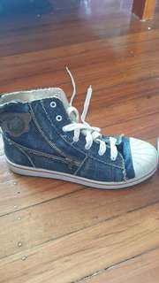 Jeans Converse style Shoes