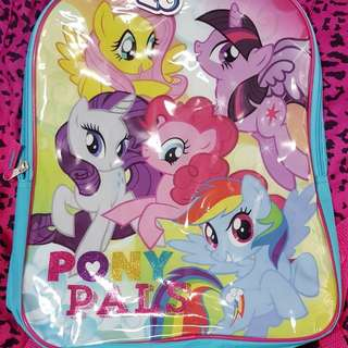 My Little Pony backpack and lunchbox set
