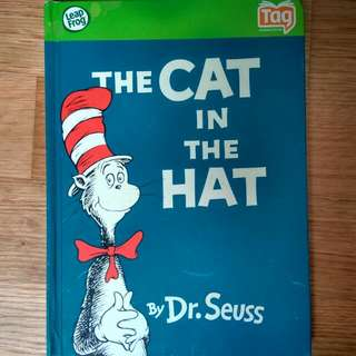$4 Sale Dr. Seuss Cat In The Hat Hard Cover Classic Good Condition