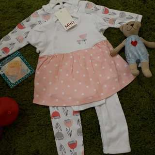 Baby Girl 2 in 1 Set