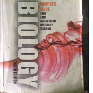 CAMPBELL biology book 8th edition