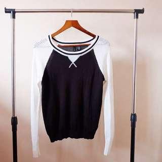 Ultra Flort Black&White Pullover