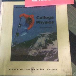 McGraw-Hill College Physics 2nd edition