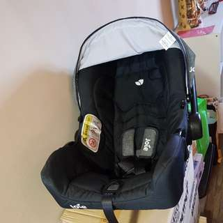 Almost new infant car seat