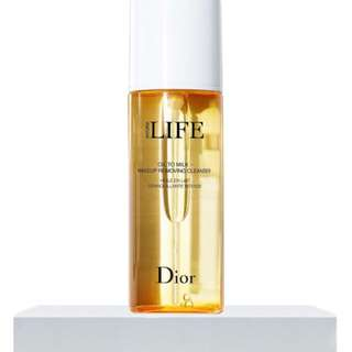 Dior Oli to Milk Makeup Remover