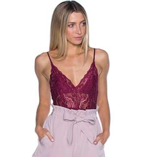 Lace Bodysuit Size 6