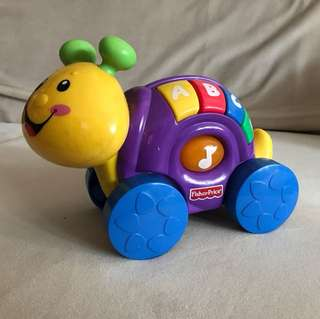 Fisher price snail battery operated