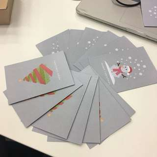 Christmas card 2017 designed by greycube singapore