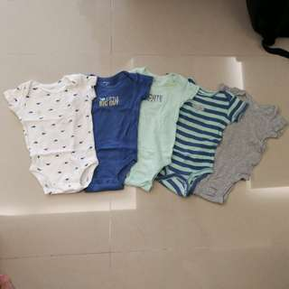 Authentic Carter's bodysuit set
