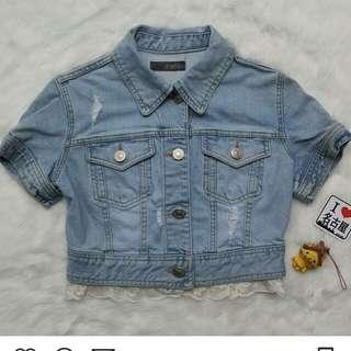 Rompi jeans korean