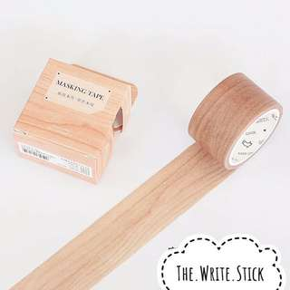 Wood Grain Washi Tape Instocks