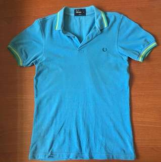 Fred Perry Blue Polo XS
