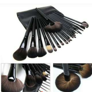 24 pcs make up brushes