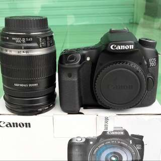 Canon EF-S Lens 18-200mm f/3.5-5.6 IS