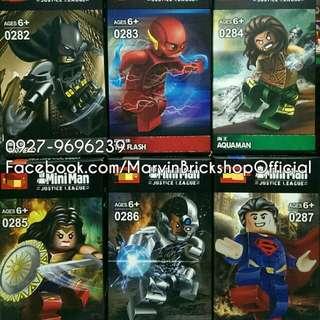 For Sale Justice Leagu 6in1 Minifigures