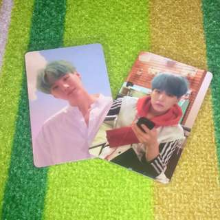 BTS LOVE YOURSELF SUGA PHOTOCARD