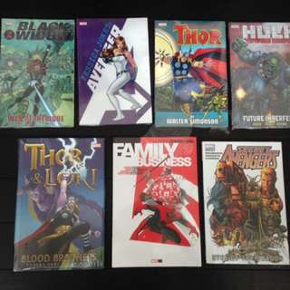 Comics Tpbs And HC ( brand New & sealed)