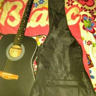 "Mactan 40"" Acoustic Guitar (Black)"