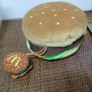 漢堡造型CD收納盒(含郵)