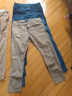 Zara man 長褲4條 如圖$20 一條