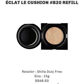YSL touche eclat le cushion refill b20