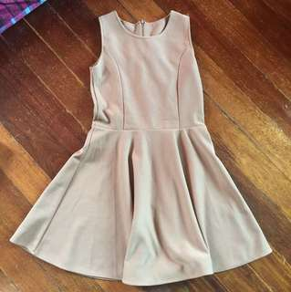 Brown Dress (small-med) very cute,