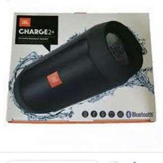 charge 2 + black color speaker jbl