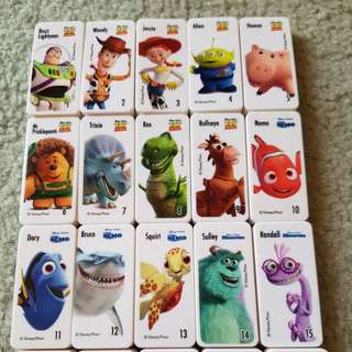 Woolworths Disney Pixar domino set