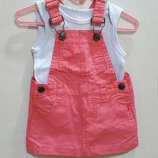 Overall + singlet mothercare