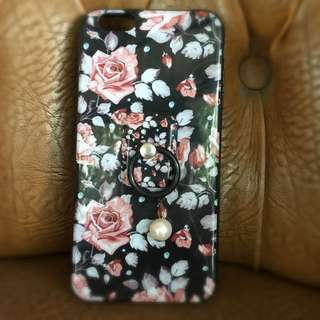 Case Flower Ring for iPhone 6+