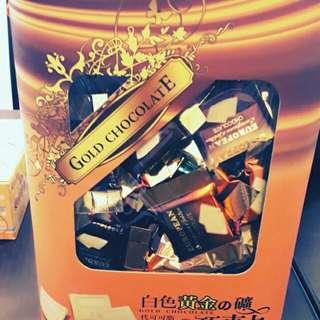 日本白色黃金巧克力我已刊超取抽獎金