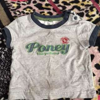 tshirt poney for baby
